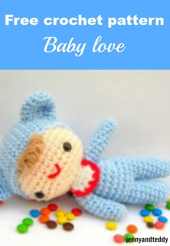 free crochet amigurumi pattern baby love by jennyandteddy