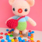 Little pig free amigurumi pattern
