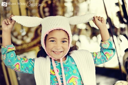 easter bunny crochet hat free pattern