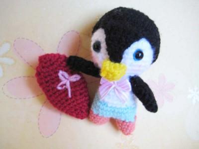penguin amigurumi free patterns by jennyandteddy.com
