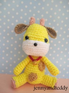 giraffee crochet