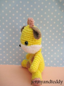 giraffee crochet free pattern