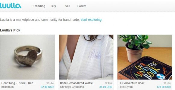 Etsy vs dawanda two websites to sell your handmade party for Website to sell crafts for free