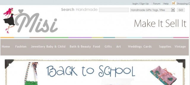 misi place to sell your crafts online