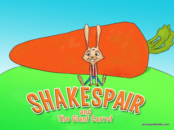 shakespair and the giant carrot bedtime children story ebook kindle