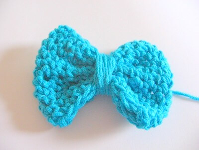 crochet easy bow tie