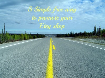 free way to promote your etsy shop
