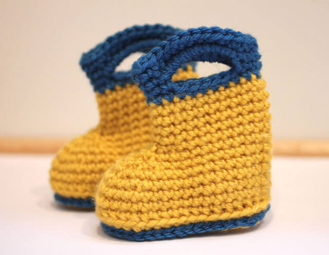Free Crochet Pattern For Infant Cowboy Boots Dancox For