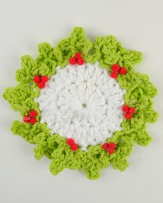 Reindeer Coaster Crochet Pattern - All Free Christmas