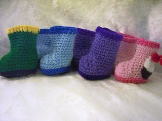 cfd5b67e716 20 free crochet baby booties patterns
