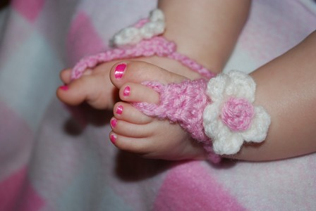 Baby Crochet Cowboy Boots