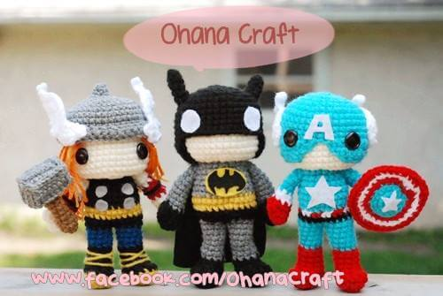 Free Amigurumi Superhero Patterns : Etsy shop spotlight: Ohana Craft