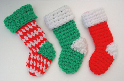 15free Crochet Christmas Stocking Patterns