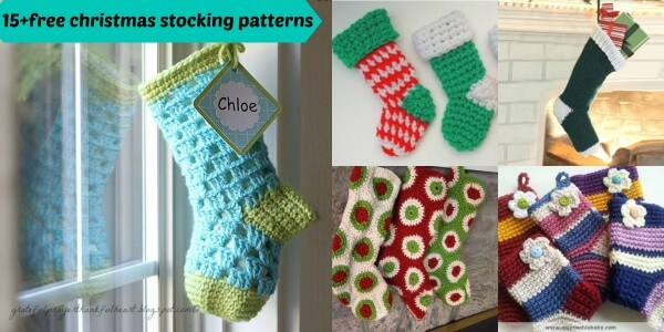 40free Crochet Christmas Stocking Patterns Fascinating Free Crochet Christmas Stocking Patterns