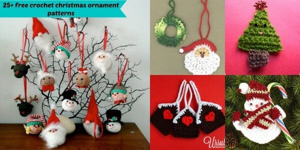 Crochet Christmas Ornaments Patterns Free.25 Free Crochet Christmas Ornament Patterns Jennyandteddy