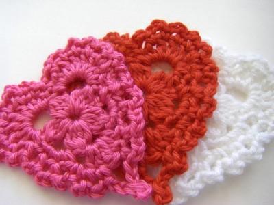 25 Free Easy Crochet Heart Patterns