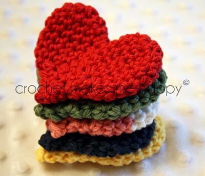 Amigurumi Heart Free Pattern : AMIGURUMI CROCHET HEART PATTERNS FREE CROCHET PATTERNS
