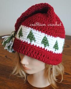 25 Free Crochet Santa Hat And Christmas Theme