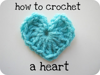 Crochet Tutorial Heart : crochet heart