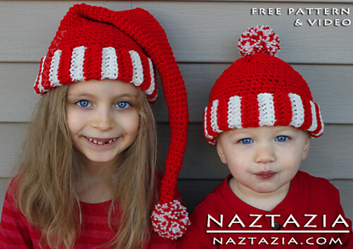 Crochet Santa Hat and Beard | Free Amigurumi Pattern - Tiny Curl ... | 353x500