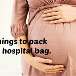15 Things to pack in my hospital bag