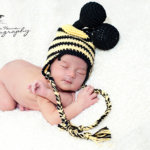 bumble bee crochet hat-free pattern