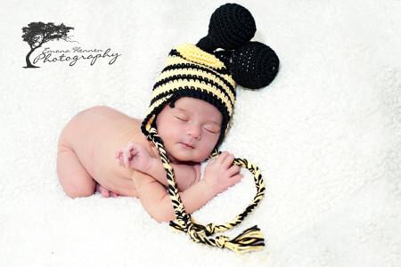bumble bee crochet hat free pattern newborn preemie by jennyandteddy