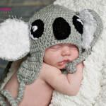 koala crochet hat-free pattern