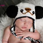 panda crochet hat free pattern by jennyandteddy