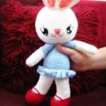 bunny love amigurumi -free pattern