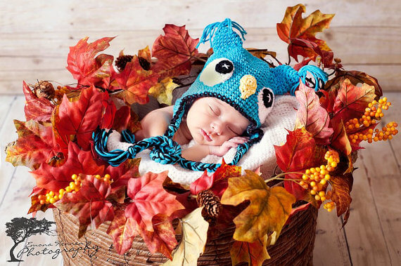 owl crochet hat free patterns newborn-1 year jennyandteddy