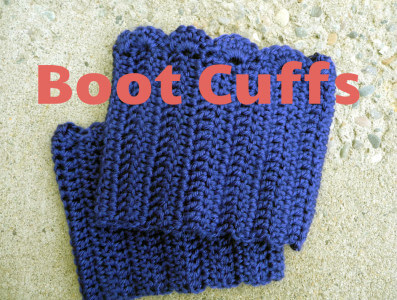 17.scallop boot cuff tutorial