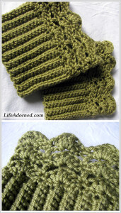 27. free boot-cuffs-toppers free pattern