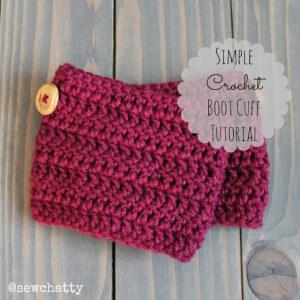 4. simple crochet BootCuff_Cover