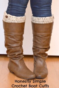 7. free pattern easy boot cuff pinnable