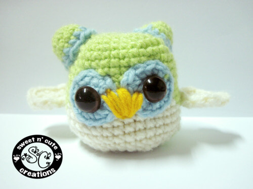 11.owl free amigurumi patternn beginner how to