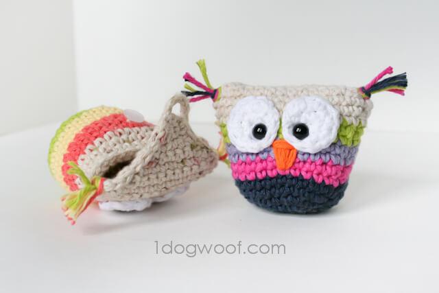2.owl crochet pouch free easy pattern-2-2