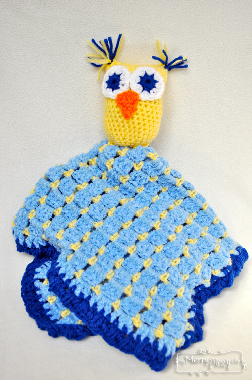 7.owls free crochet baby blankets free patterns