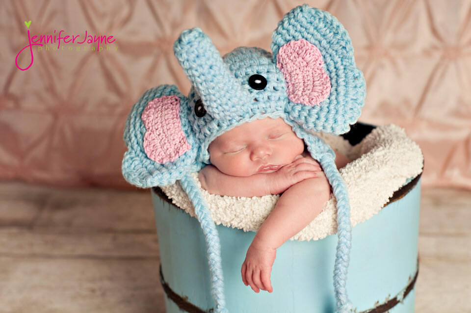 Elephant Crochet Hat Free Pattern