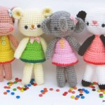 Girl gang amigurumi-free pattern