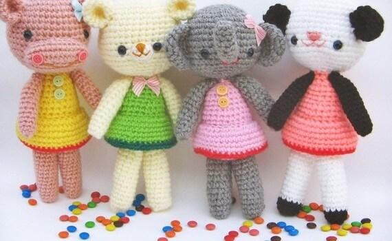 free amigurumi girl pattern