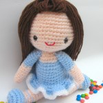 Bella girl free amigurumi pattern