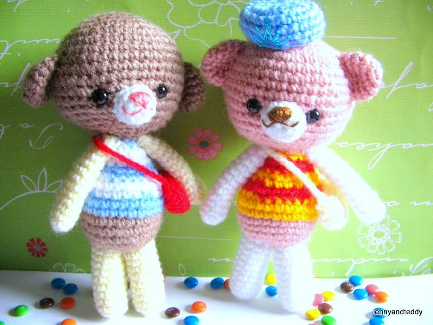 Free Pattern For Amigurumi Dog : free amigurumi crochet patterns by jennyandteddy: free ...