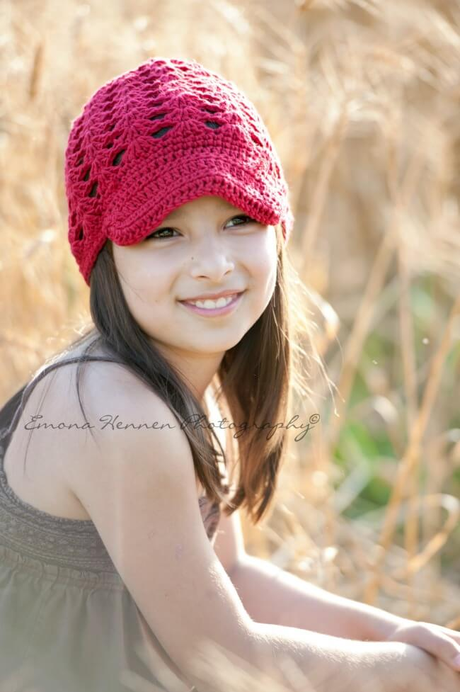 summer crochet hat free pattern by jennyandteddy
