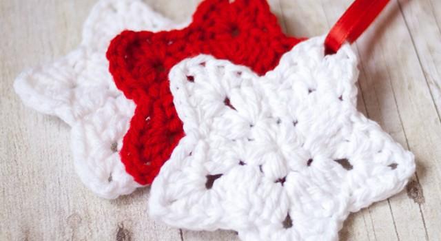 1.how to crochet easy crochet_star