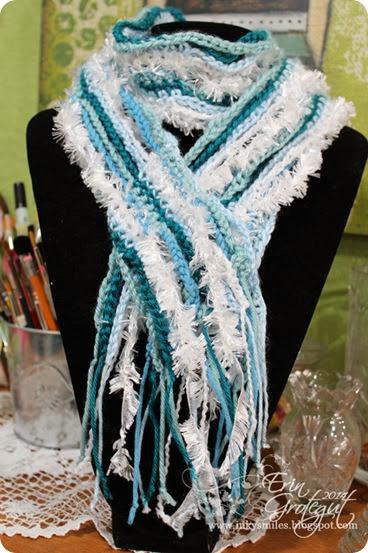 12.free crochet frozen scarf pattern