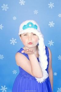 13.Frozen's Princess Elsa Inspired Hat Crochet Pattern 7