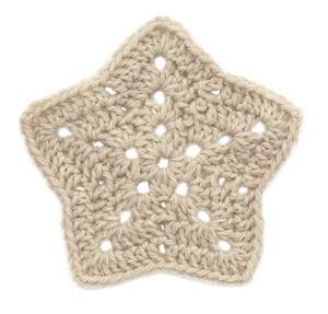18.crochet star applique tutorial