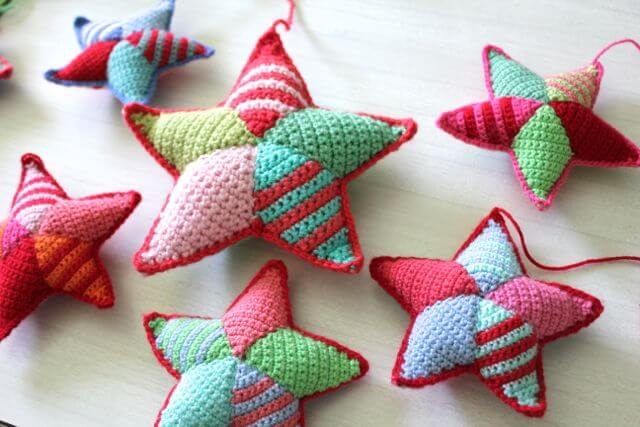 19.crochet star tutorial amigurumi free pattern