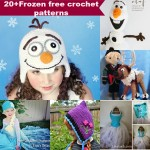 20+Free crochet frozen inspired patterns